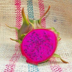 Dragon Fruit variety Condor fruit sliced