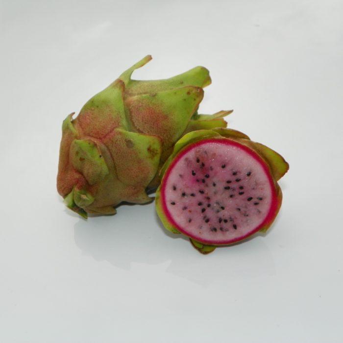 Dragon Fruit variety Kathie Van Arum fruit sliced