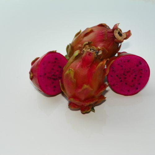 Pink Panther Dragon Fruit sliced