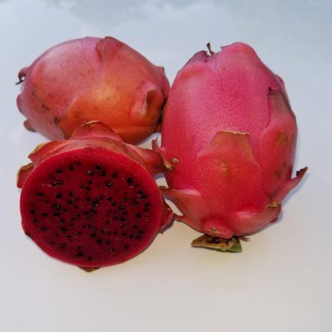 Valdivia Roja Dragon Fruit Sliced