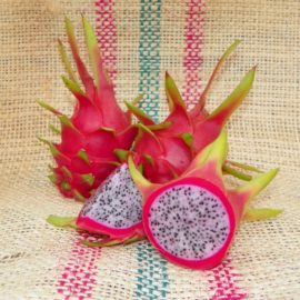 Dragon Fruit variety White Sapphire Spicy Exotics fruit