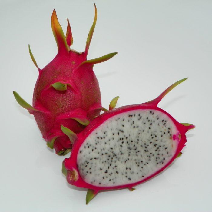 Dragon Fruit variety K1 fruit sliced